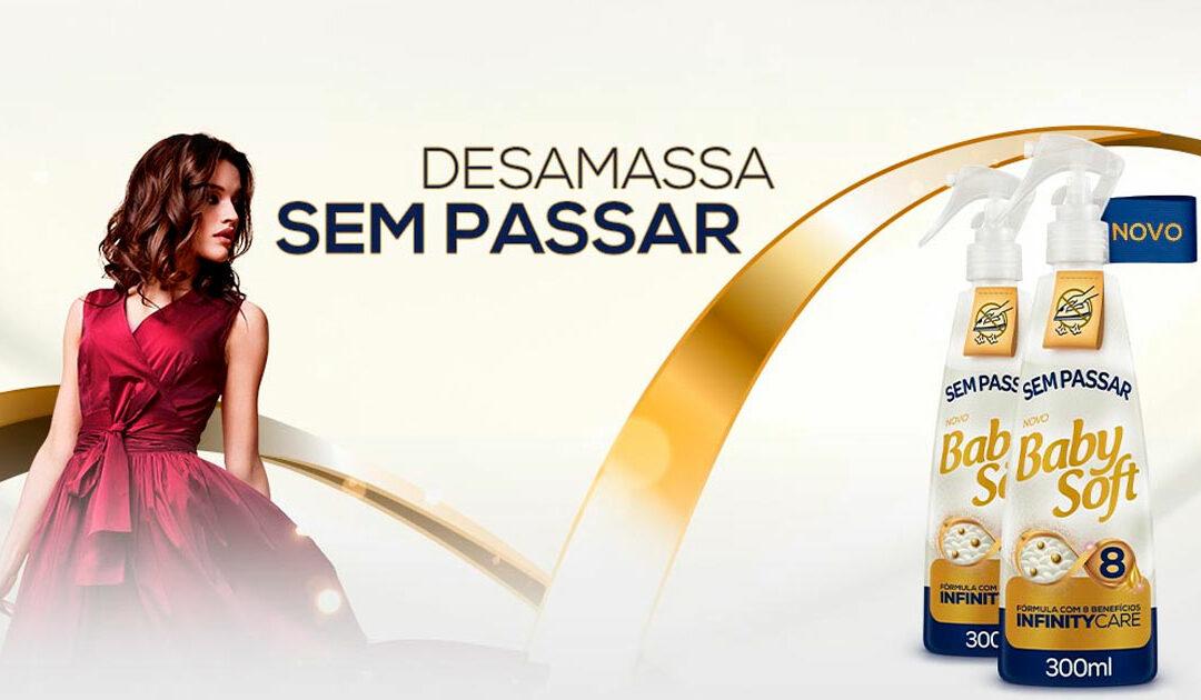 Baby Soft revoluciona e anuncia uma nova categoria com lançamento de Sem Passar