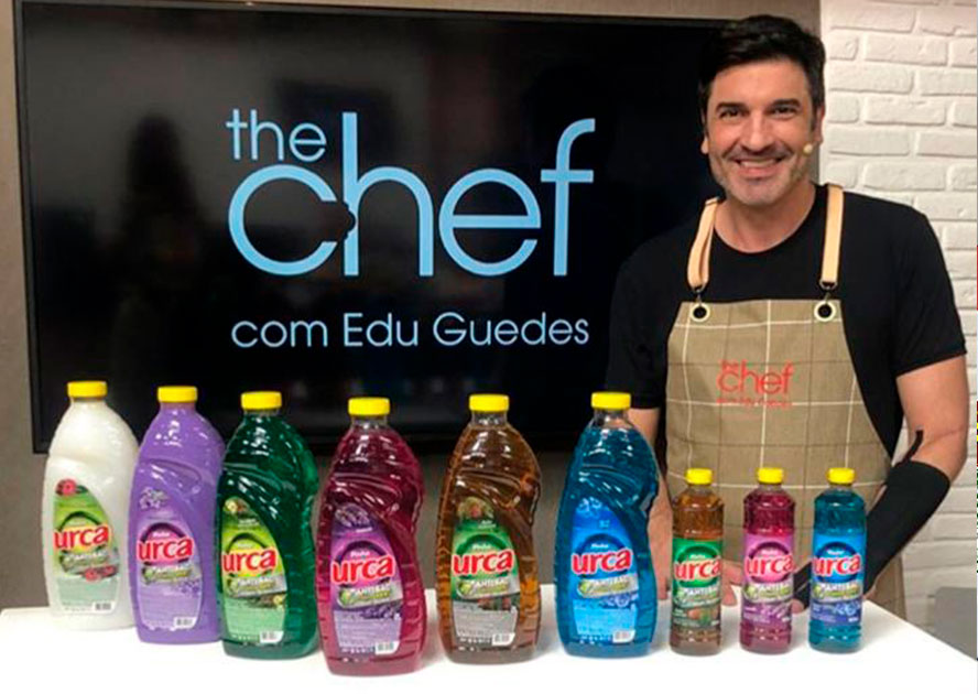 Baby Soft, Urca e UFE entram no novo programa The Chef, de Edu Guedes, na Band