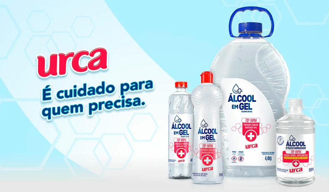 Urca lança Álcool Líquido 70° INPM