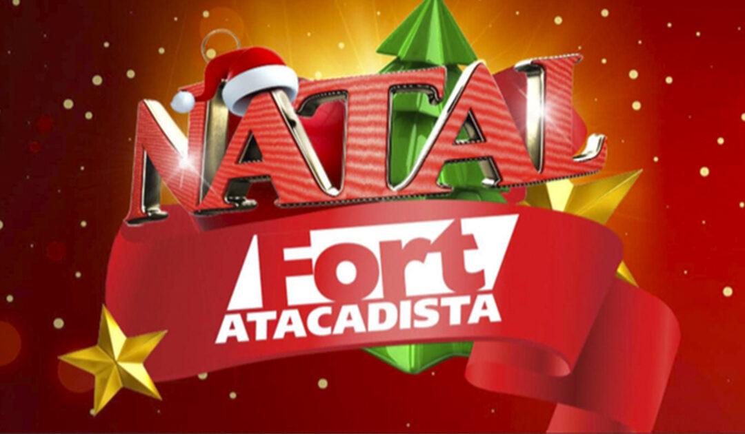 Natal do Fort Atacadista terá solidariedade, preços baixos e muita variedade